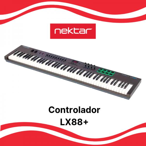 Teclado Controlador Nektar LX88+