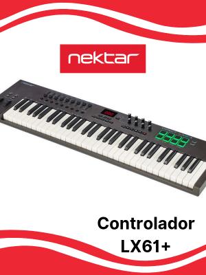Teclado Controlador Nektar LX61+