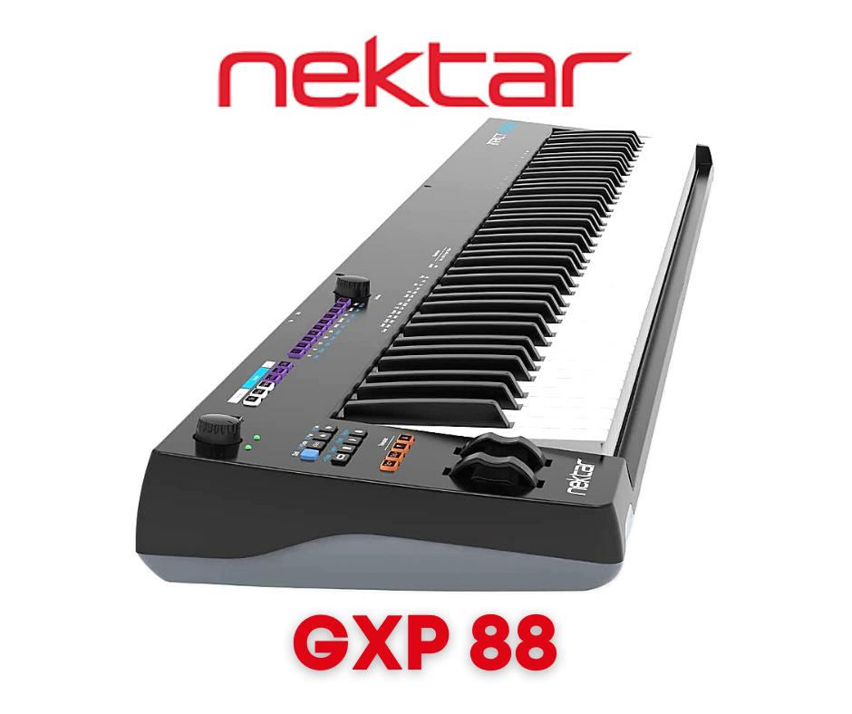 teclado controlador nektar GXP88
