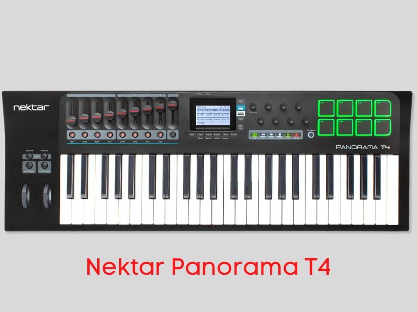 teclado controlador nektar T4