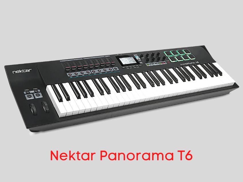 teclado controlador nektar t6