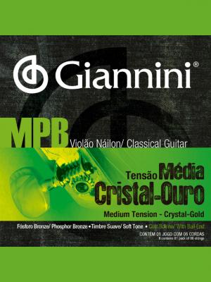 cuerdas de nylon MPB giannini GENWG