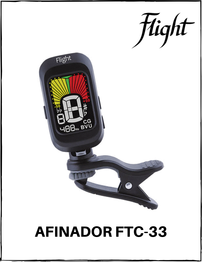 Afinador Digital Flight FTC33