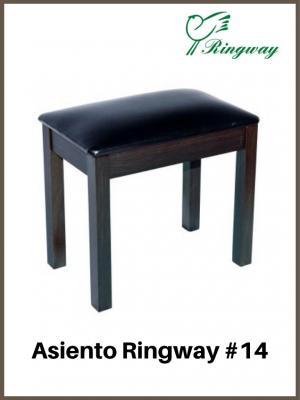 Asiento Para Piano Negro 14PVC