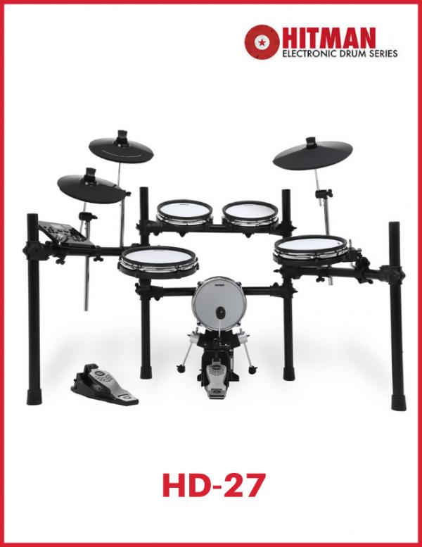 batería electrónica Hitman HD27