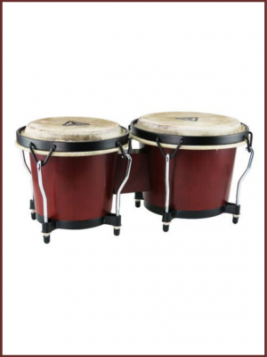 bongos tycoon ritmo series color caoba