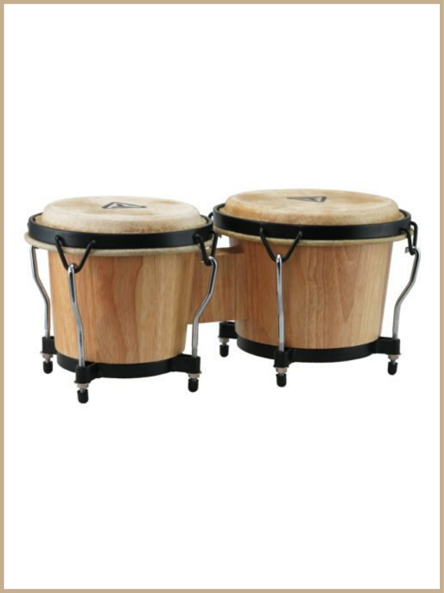 bongos tycoon ritmo series color natural
