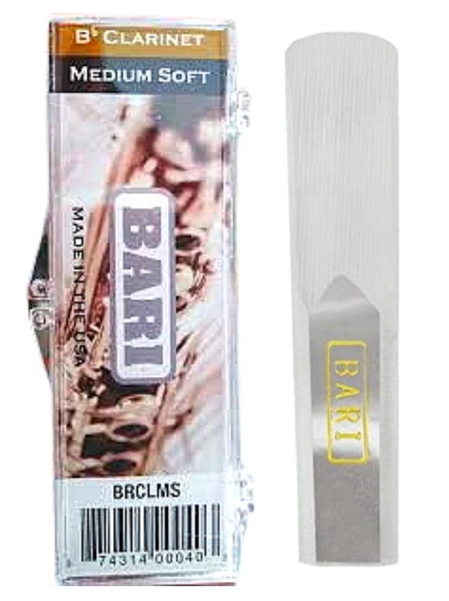 caña sintética medium soft para clarinete Bb