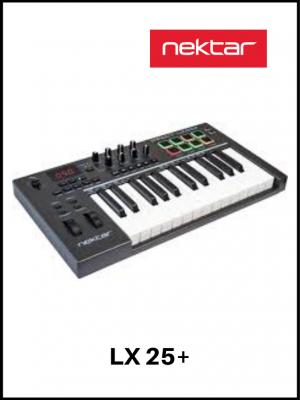 Teclado Controlador Nektar LX25+