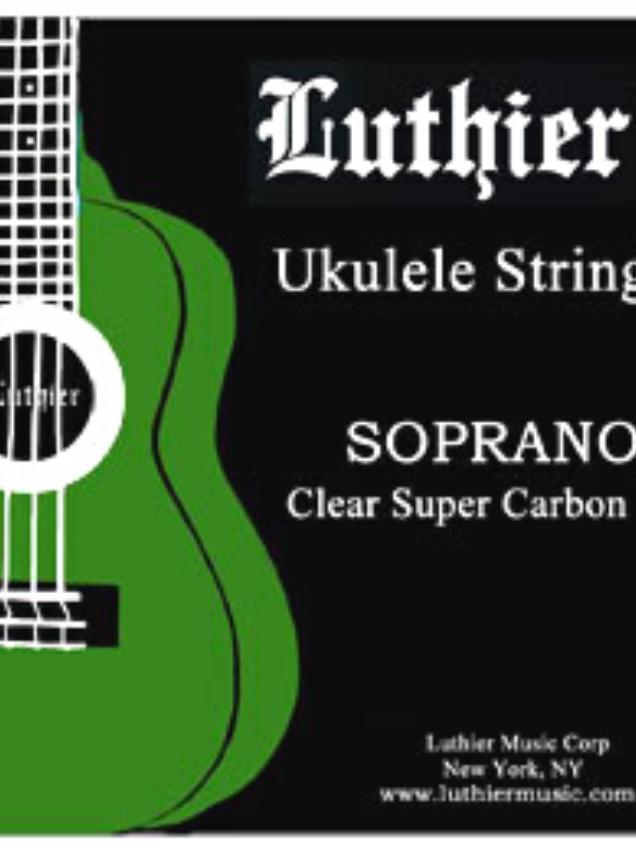cuerdas para ukulele soprano