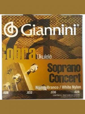 cuerdas para ukulele soprano/concierto paganini