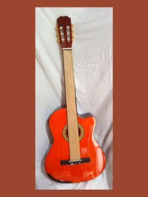 guitarra electroacústica tipo cutway vivaldi