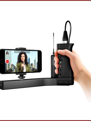 soporte profesional para celular iklip a/v