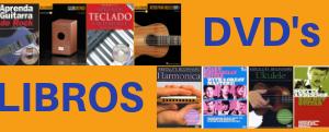Libros y Tutoriales en DVD
