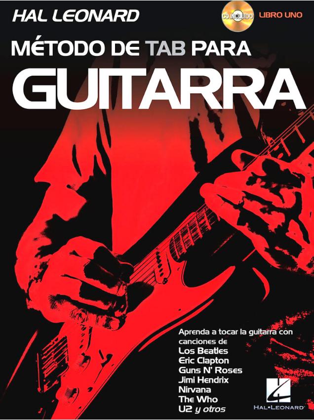 método de tab para guitarra libro 1