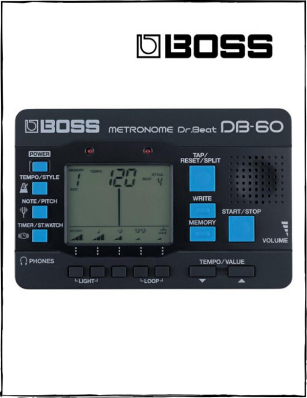 Metrónomo Boss DrBeat DB60