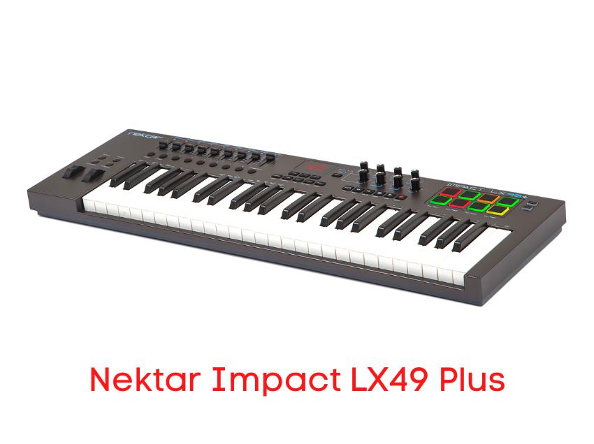 teclado controlador nektar LX49
