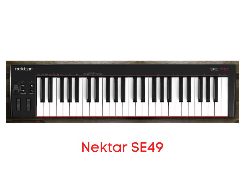 teclado controlador nektar se49