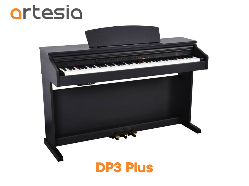 piano digital artesia dp3 plus
