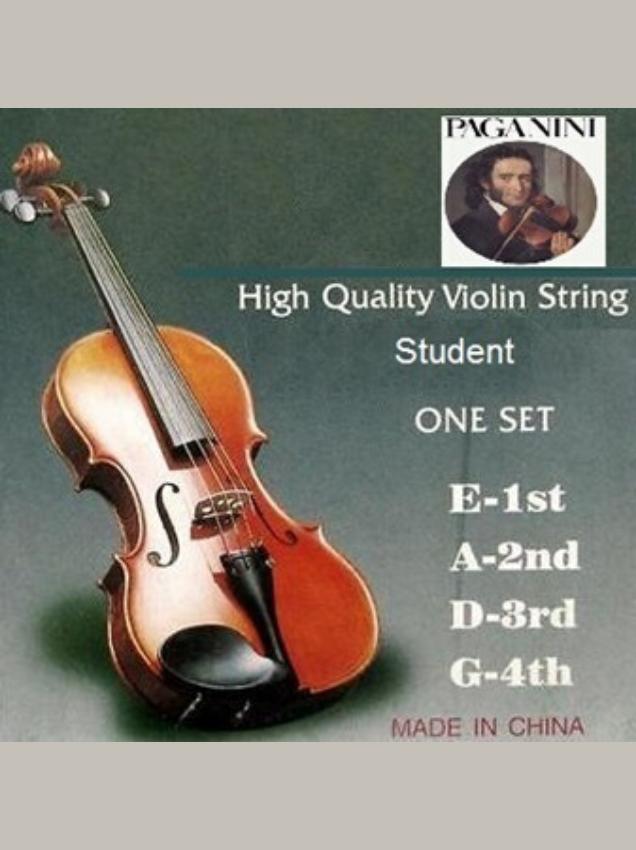Cuerdas para violín 4/4 marca paganini