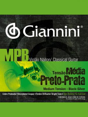 Cuerdas De Nylon MPB Giannini Tensión Media