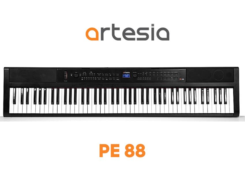 teclado portable artesia pe88