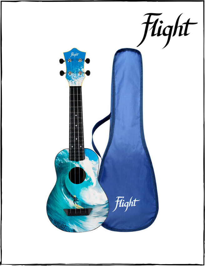 Ukulele Soprano Flight TUS25 Surf