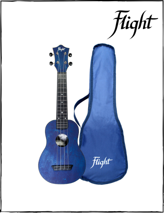 Ukulele Soprano Flight TUS35 DB